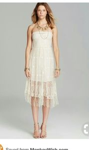 Intimately Free People Sheer Lace Maxi Dress